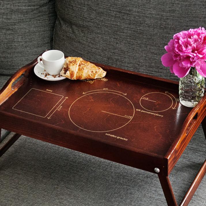 Perfekcyjne Śniadanie - Taca Śniadaniowa