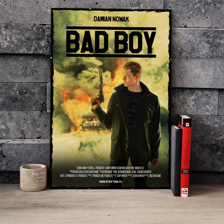 Plakat Filmowy Bad Boy