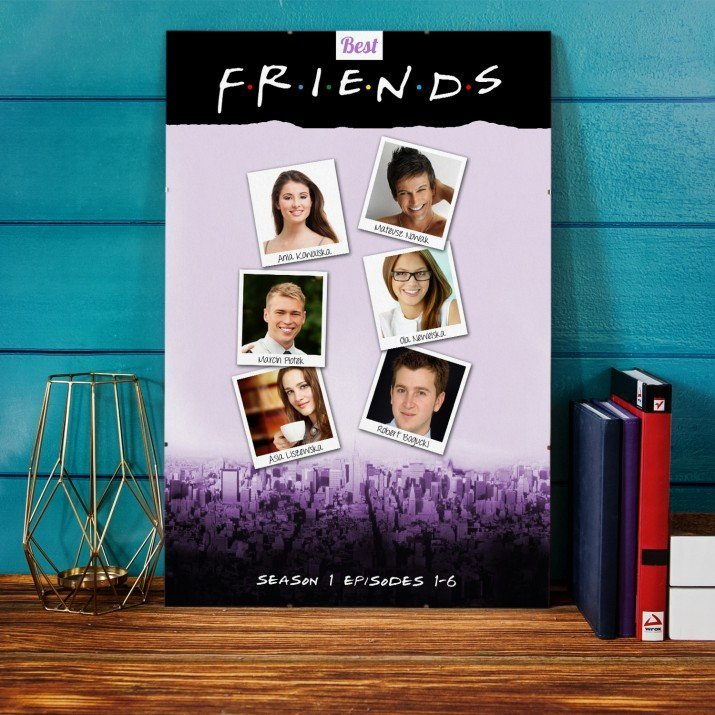 Plakat Filmowy Best Friends