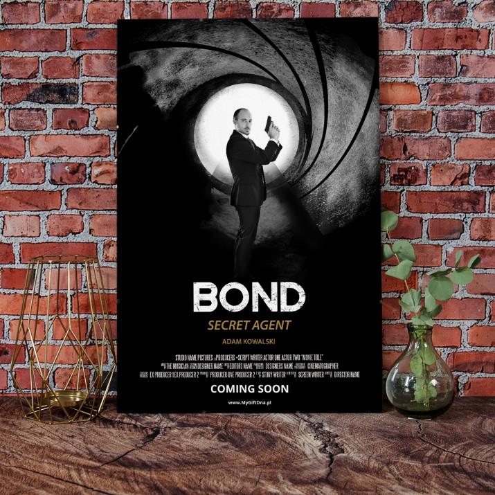 Plakat Filmowy Bond