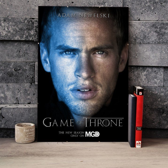 Plakat Filmowy Game of Throne