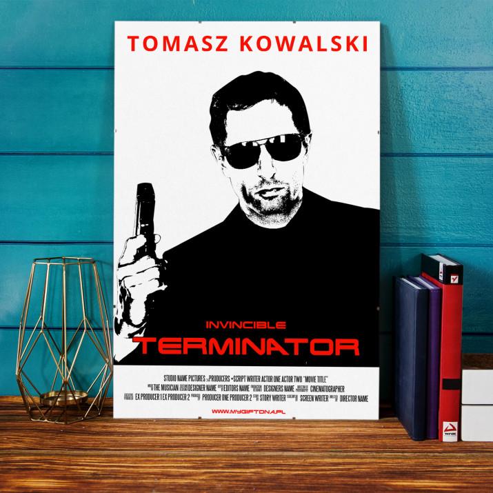 Plakat Filmowy Invincible Terminator