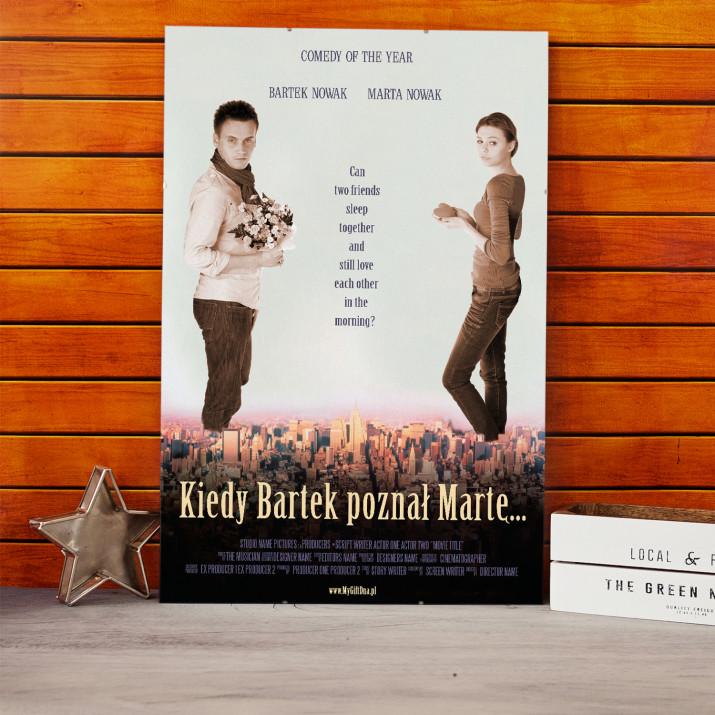 Plakat Filmowy Kiedy Bartek poznał Martę