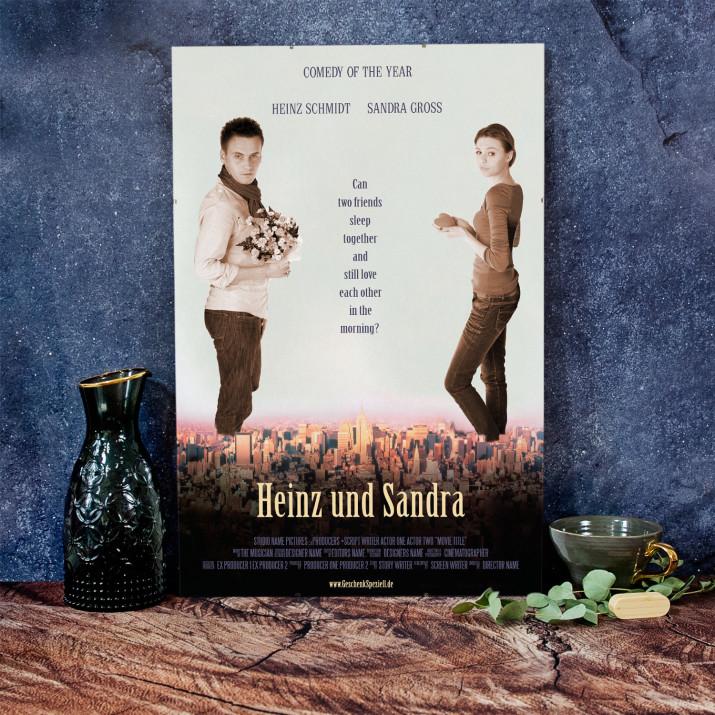 Filmplakat Heinz und Sandra