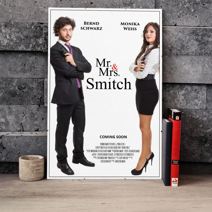Filmplakat Mr. & Mrs. Smitch