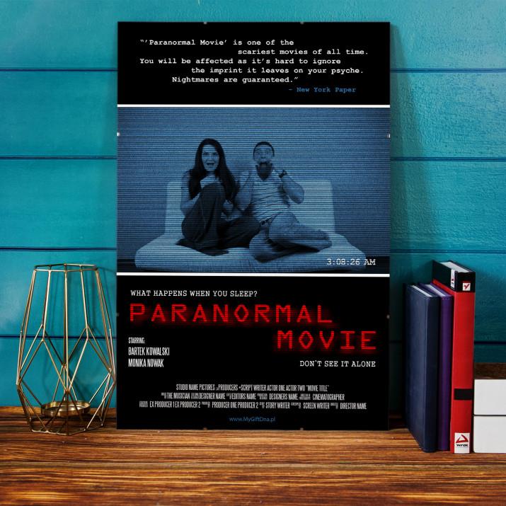 Plakat Filmowy Paranormal Movie