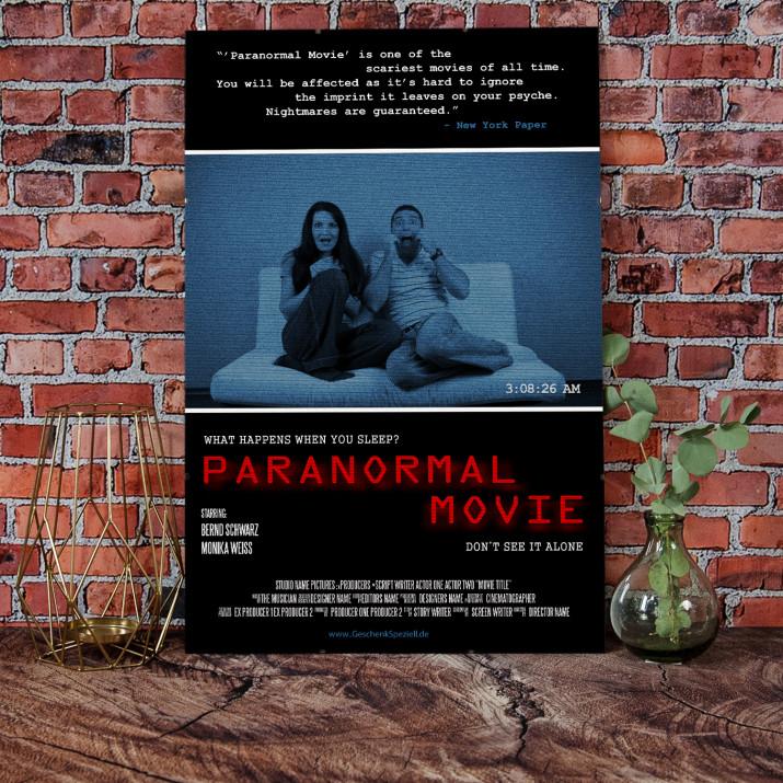 Filmplakat Paranormal Movie