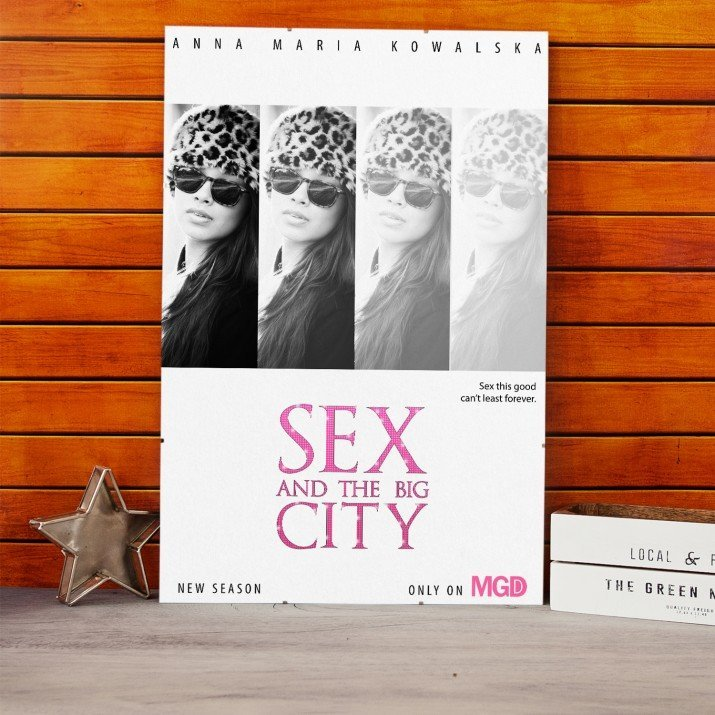 Plakat Filmowy Sex and the big city
