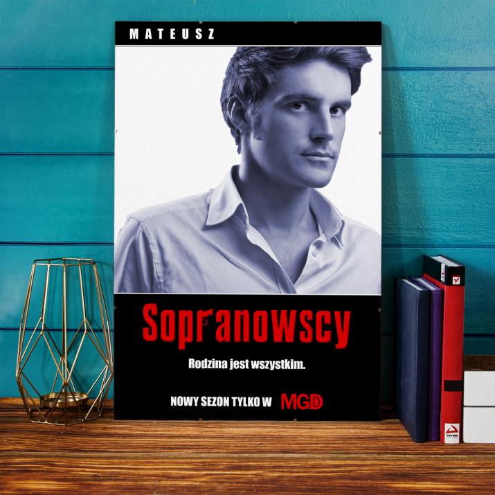 Plakat Filmowy Sopranowscy