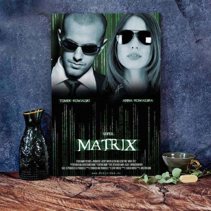 Plakat Filmowy Super Matrix
