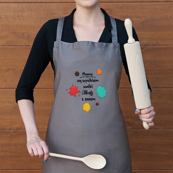 Plamy - Fartuch kuchenny
