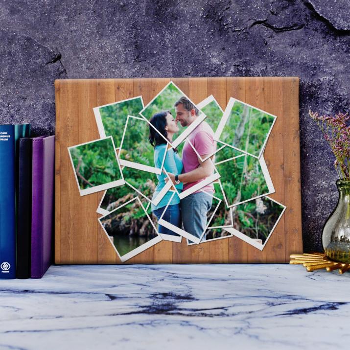 Polaroid - obraz na płótnie