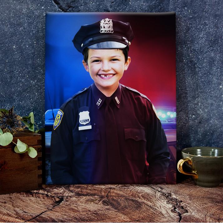 Policjant - Portret marzeń