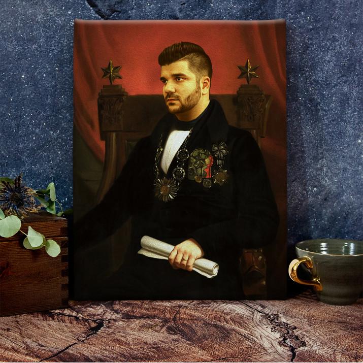 Prezydent - Królewski portret