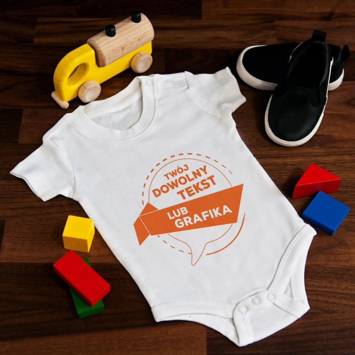 Projekt własny - body niemowlęce