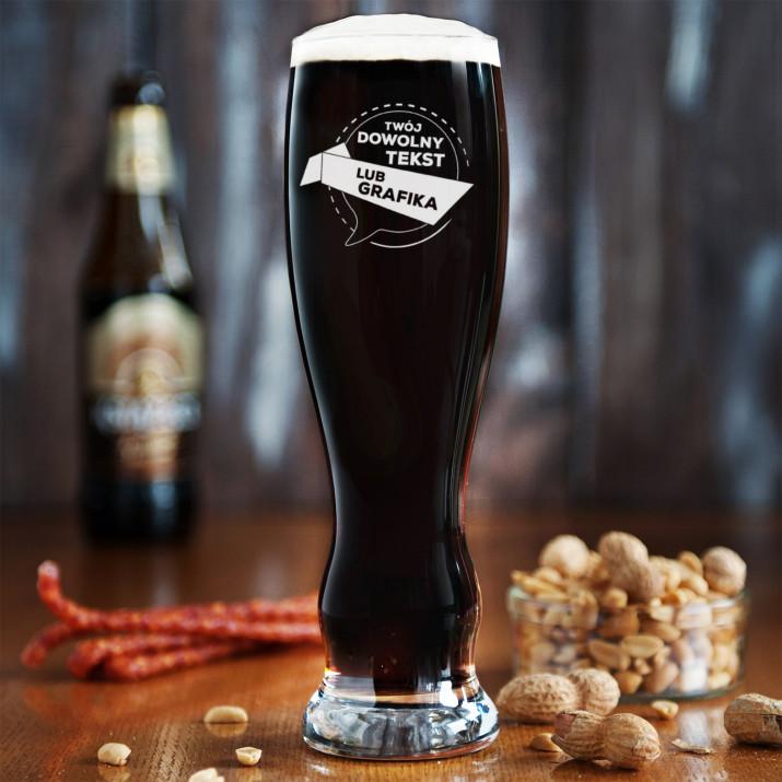 Projekt własny - Grawerowana Szklanka do piwa