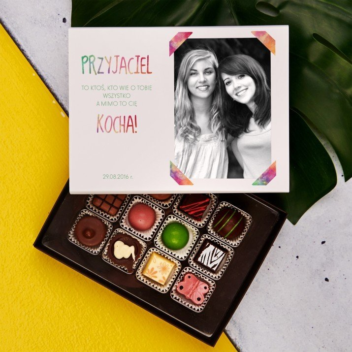 Przyjaciel - Praliny z belgijskiej czekolady