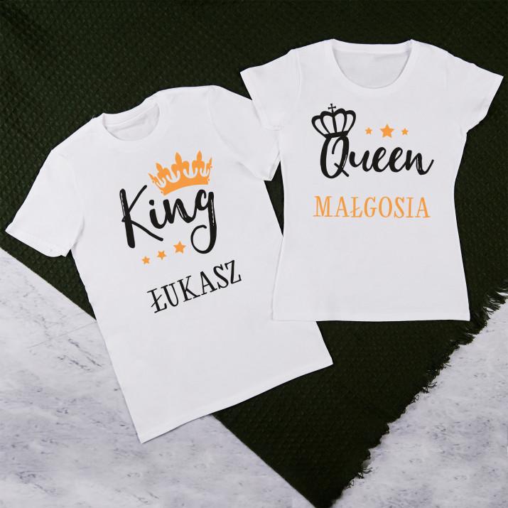 Queen, king - Zestaw Koszulek Dla Par