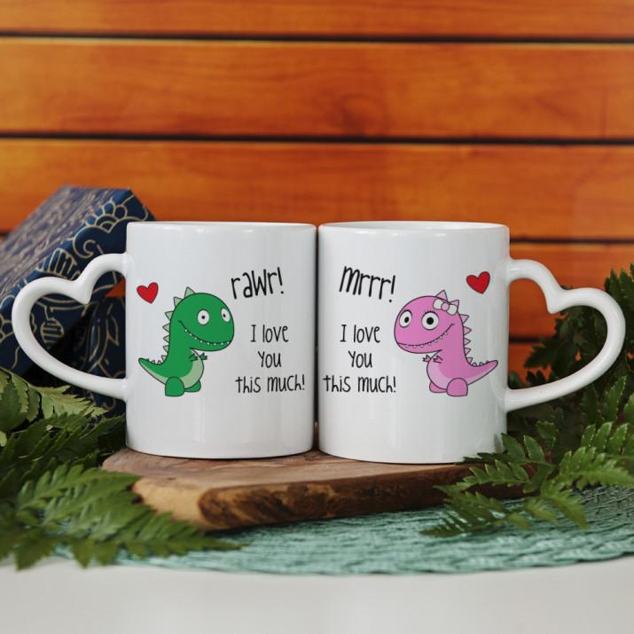 Rawr! - Tassen für Paare