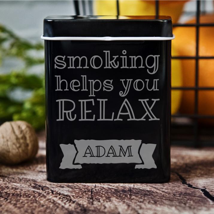 Relax - etui na papierosy z grawerem