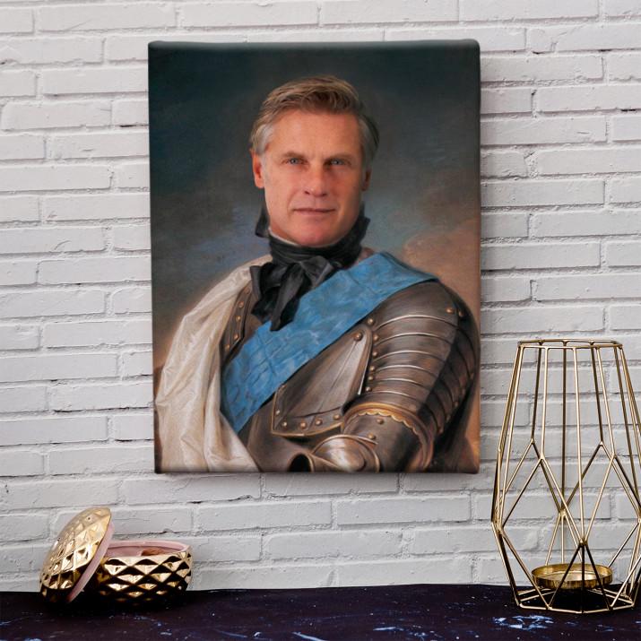 Rycerz - Królewski portret