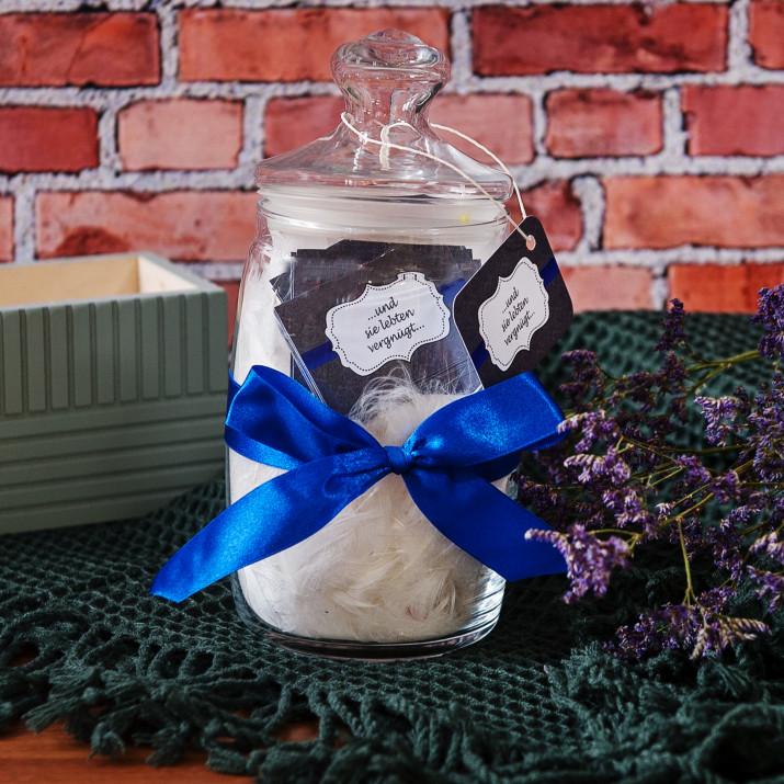 Wunschglas: Hochzeitssprüche