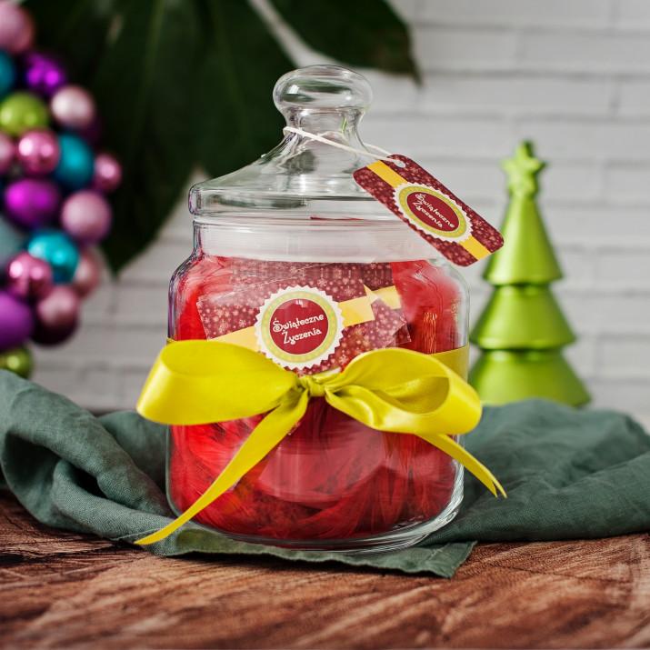 Słój życzeń: Świąteczne Życzenia