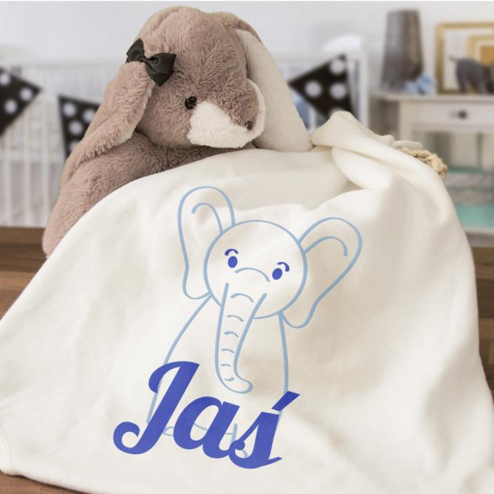 Słonik - Ręcznik niemowlęcy