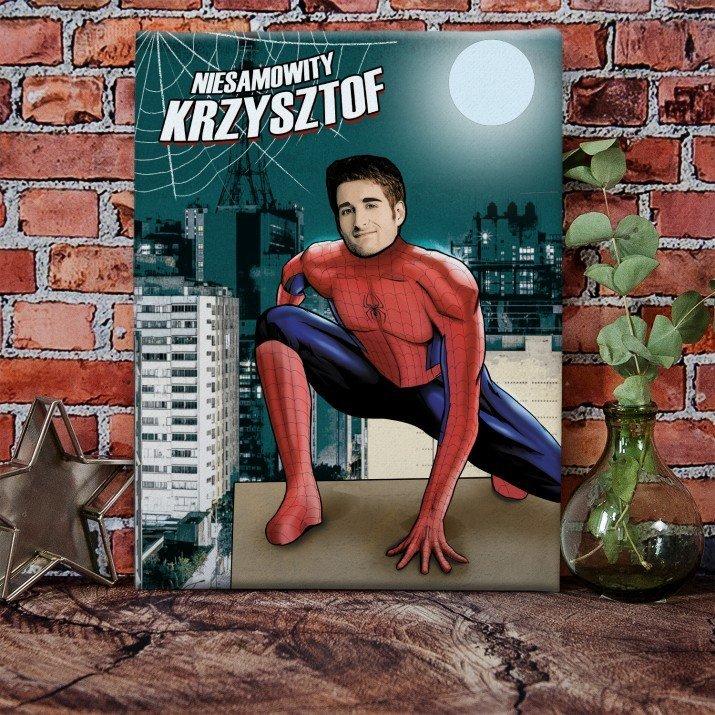 Spiderman - obraz z Twojego zdjęcia