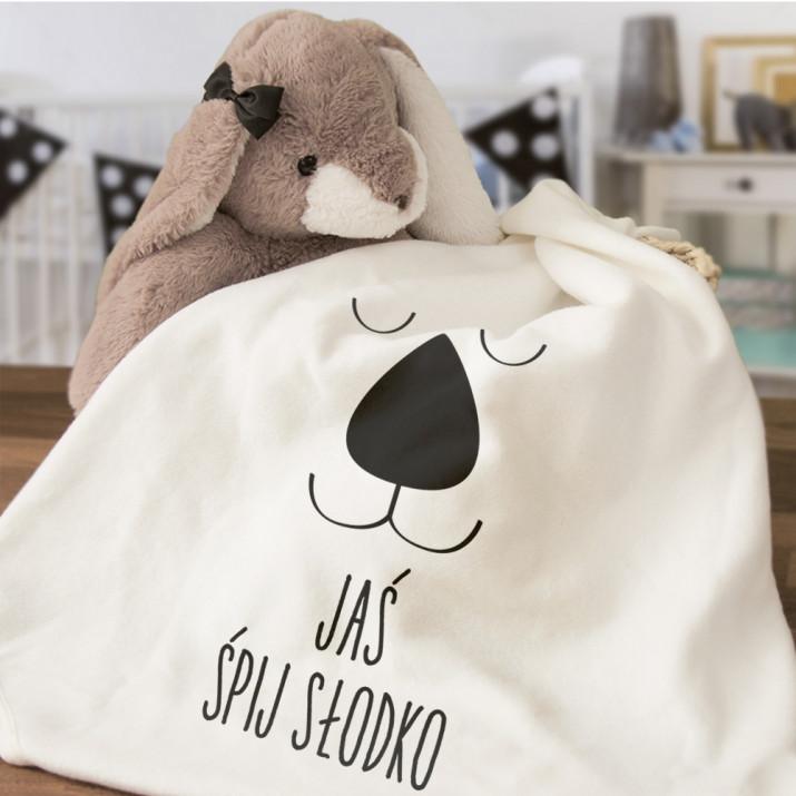 Śpij słodko chłopiec - Ręcznik niemowlęcy