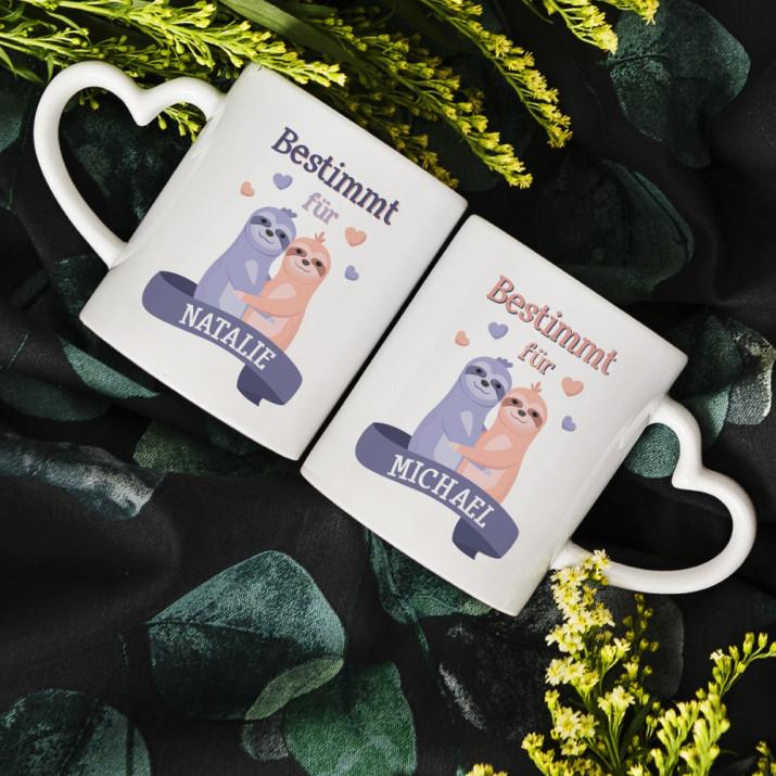 Füreinander bestimmt - Tassen für Paare