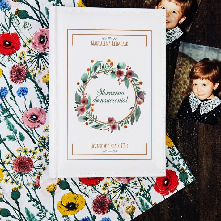Stworzona do nauczania - Personalizowany Album na zdjęcia