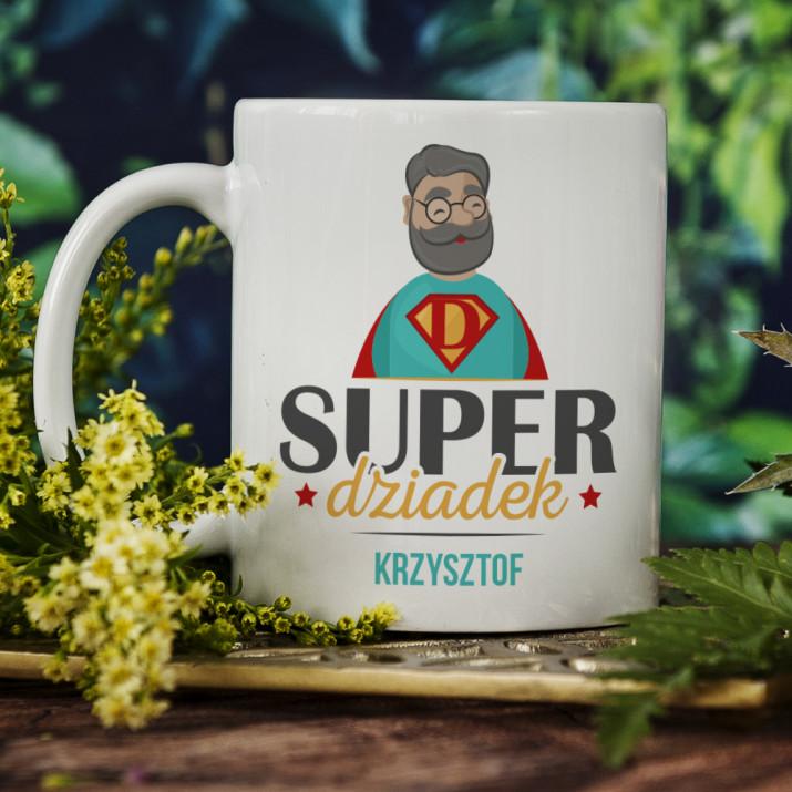 Super dziadek - Personalizowany Kubek