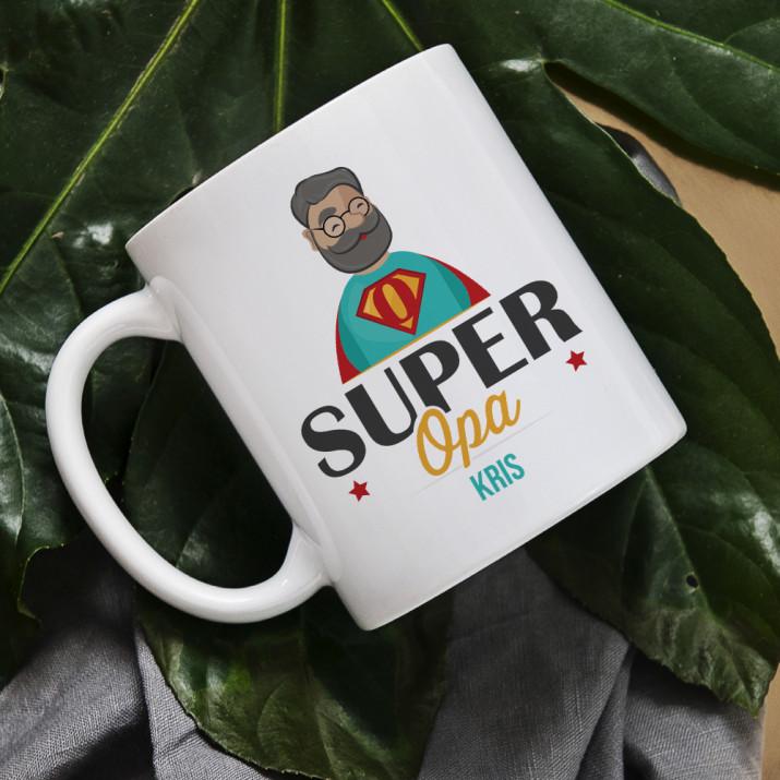 Super Opa - personalisierte Tasse