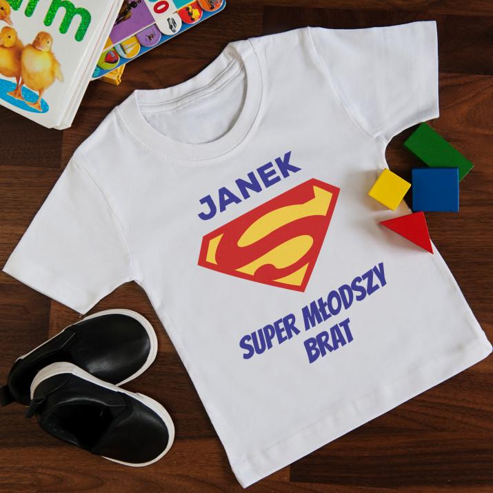 04a802a14 Superman - Koszulka z nadrukiem dla dziecka - MyGiftDna.pl