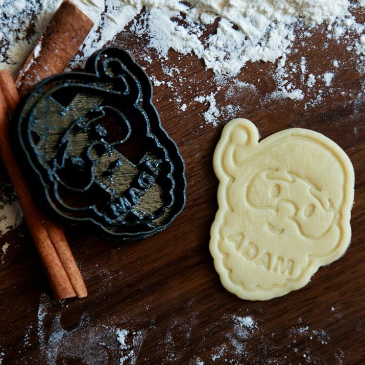 Święty Mikołaj - personalizowana foremka 3D do ciastek