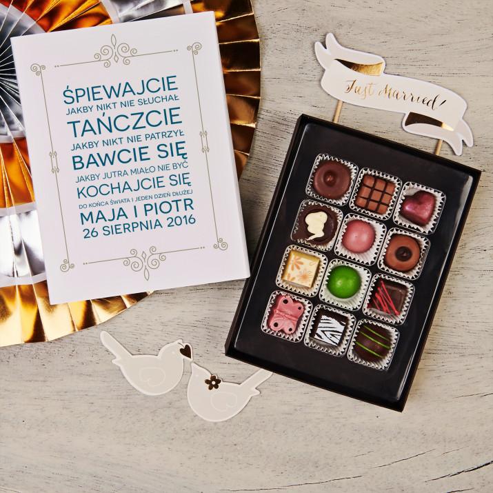 Szczęście - Praliny z belgijskiej czekolady