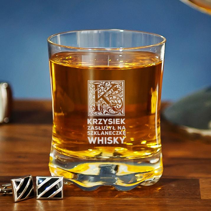 Szklaneczka whisky - Szklanka do whisky
