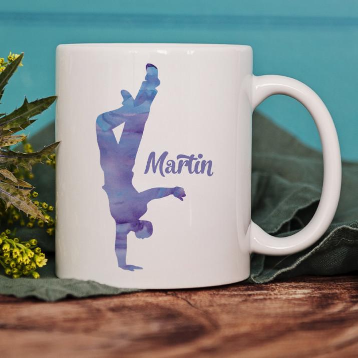 Tänzer - Personalisierte Tasse