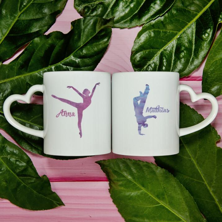 Tänzer - Tassen für Paare