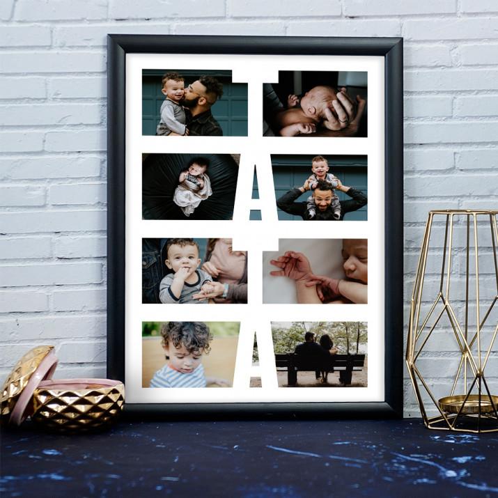 Tata - Kolaż ze zdjęć