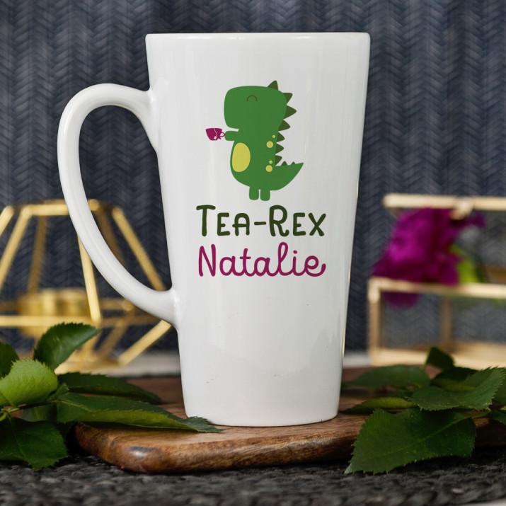 Tea-Rex - personalisierte Tasse