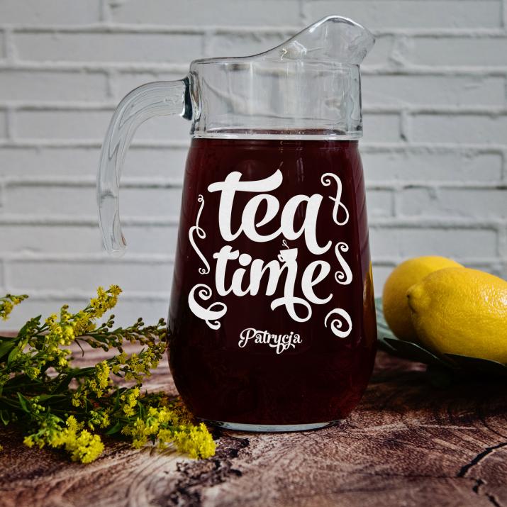 Tea time - Dzbanek szklany
