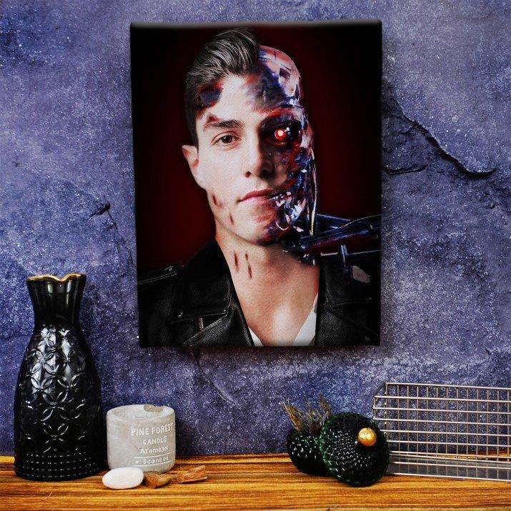 Terminator - obraz z Twojego zdjęcia