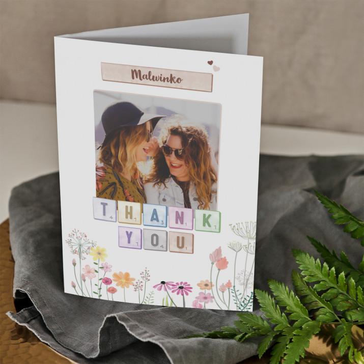 Thank you - kartka z życzeniami