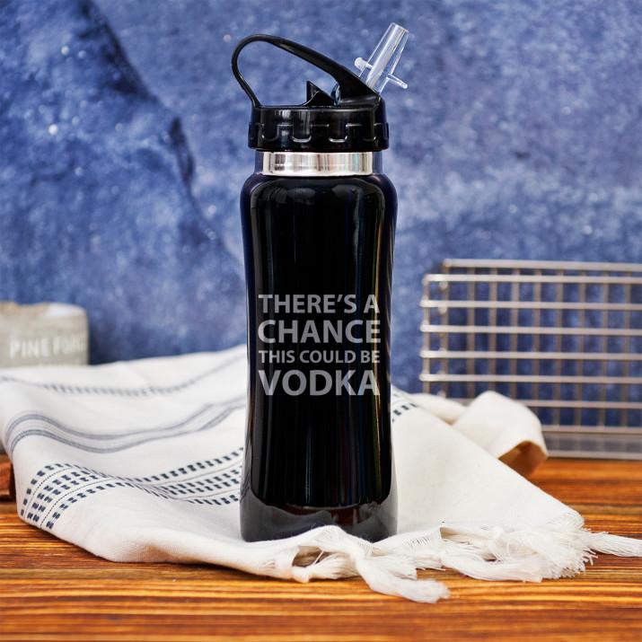 This could be vodka - bidon z grawerem