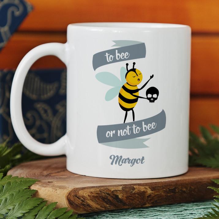 To bee or not to bee - personalisierte Tasse