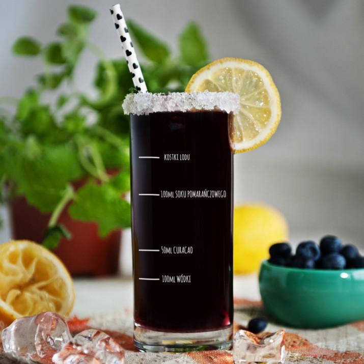 Twój przepis - Grawerowana Szklanka do drinków