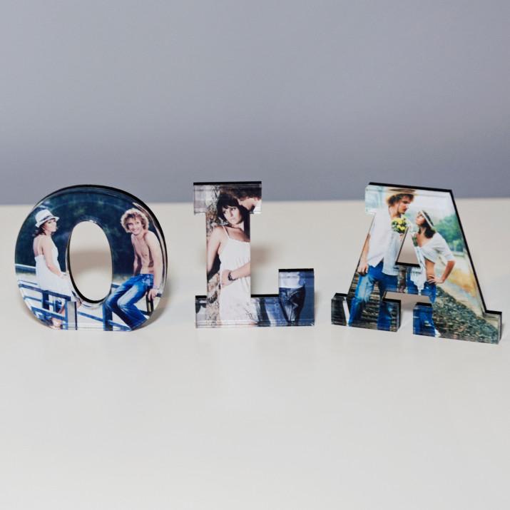 Twoje Dowolne Słowo - napis 3D ze zdjęć