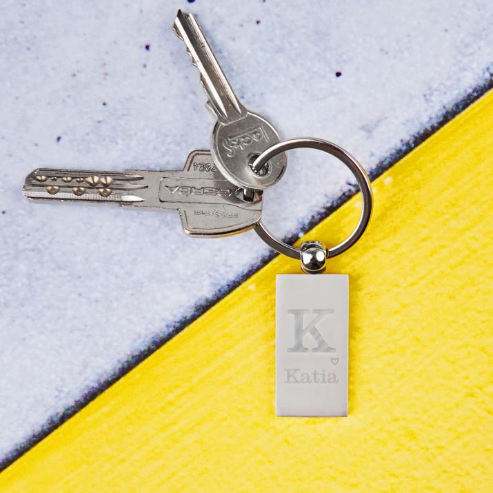 Ihr Name - Schlüsselanhänger